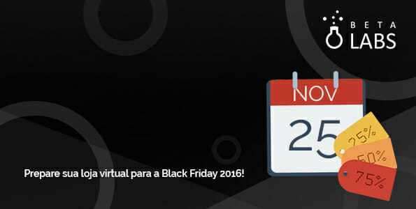 banner sobre a preparação do e-commerce para black friday 2016